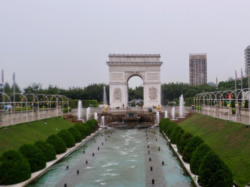 Champs Élysées reproduction